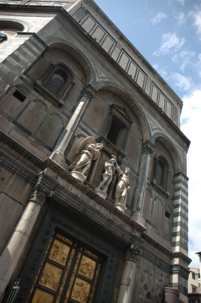 Ghiberti's bronze doors on the Baptistry