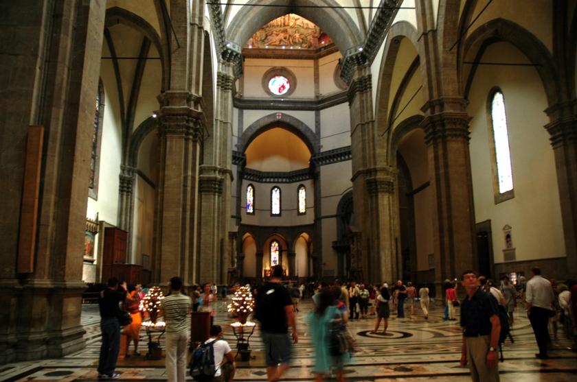 Interior of Florence's Duomo