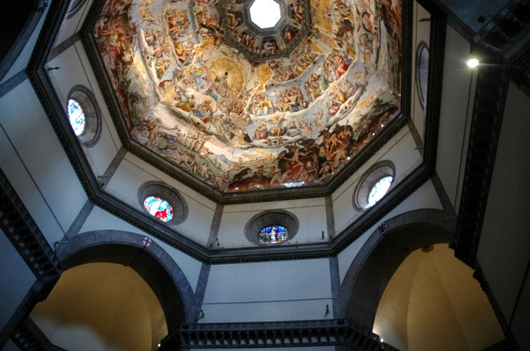 Interior of the dome