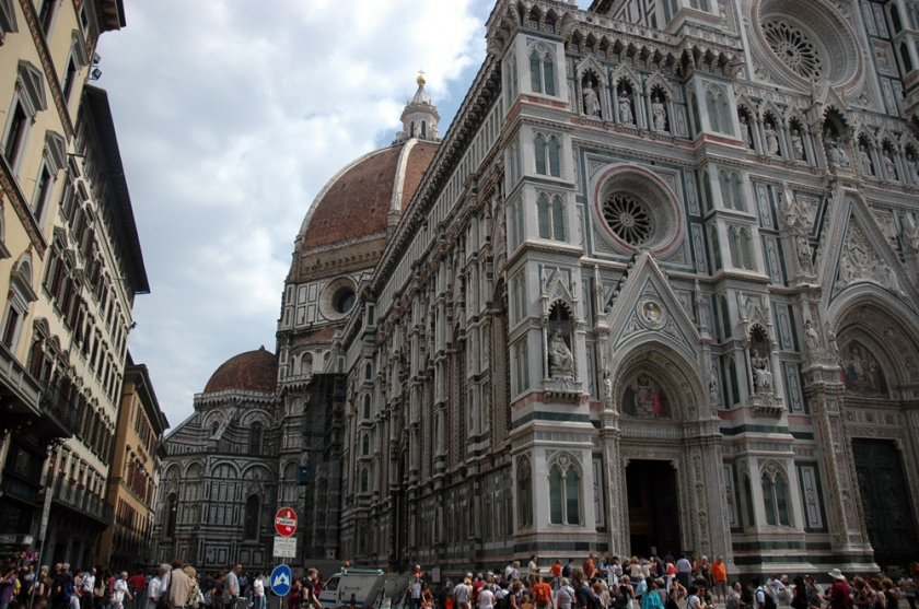 A view of the Dome on Florence's cathedral