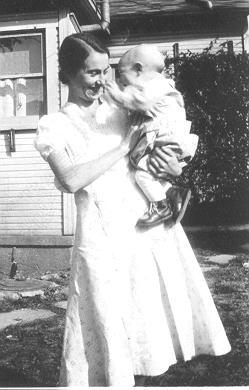 Grandma and Dad 1933