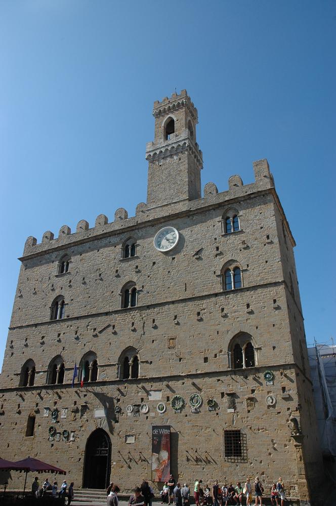 Palazzo dei Priori, Volterra's City Hall.
