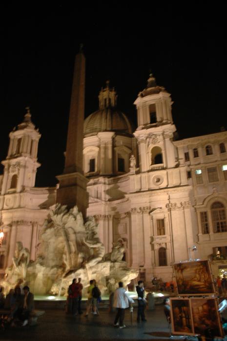 Piazza Novena Rome, Italy