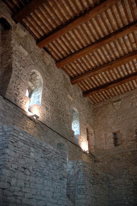 Inside Rocca Maggiore