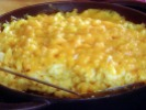 Gold nuggets and Paula Dean's macaroni and cheese