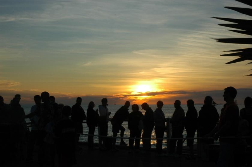 Sunset on Key West