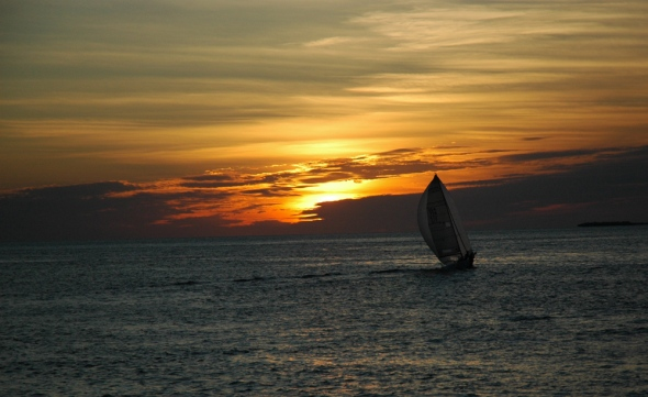 Sunset on Key West