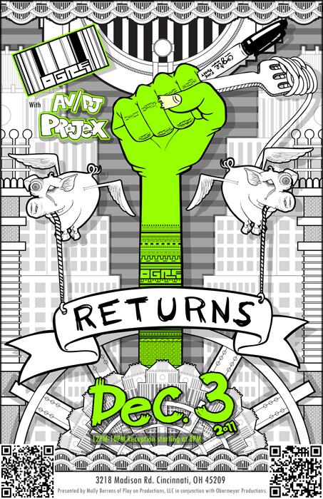 Ogre returns artwork by Matthew Grote