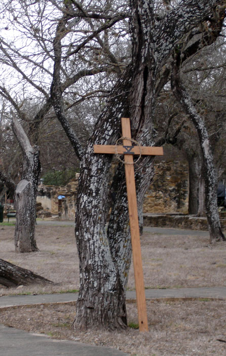 Outdoors Stations of the Cross at Espada.