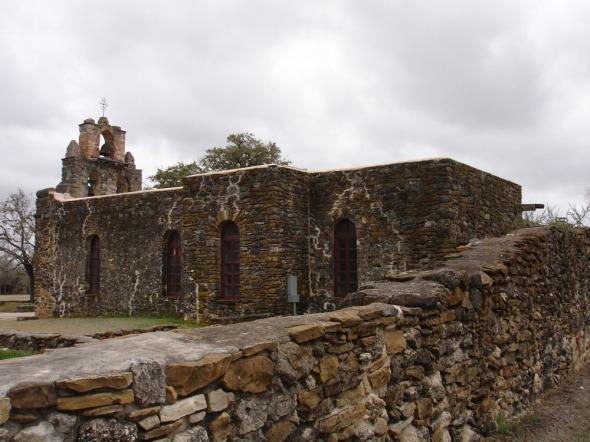 Mission San Francisco de la Espada chapel