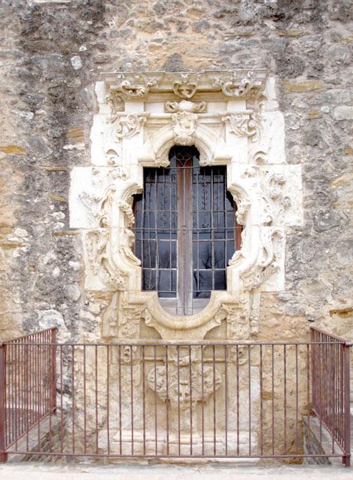 San Jose y San Miguel de Aguayo Mission Rose Window