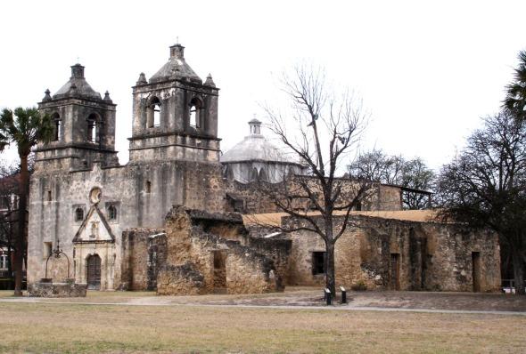 The mission of Nuestra Senora de la Purisima Concepcion
