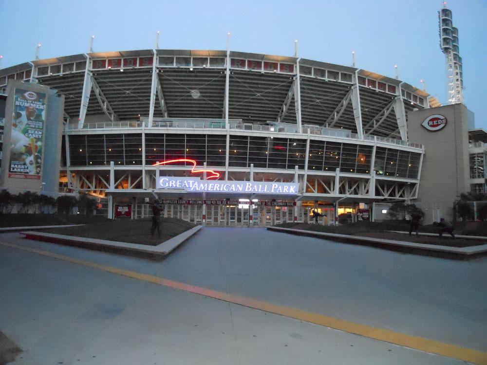 US Bank Arena Christine M Grote - Map us bank arena