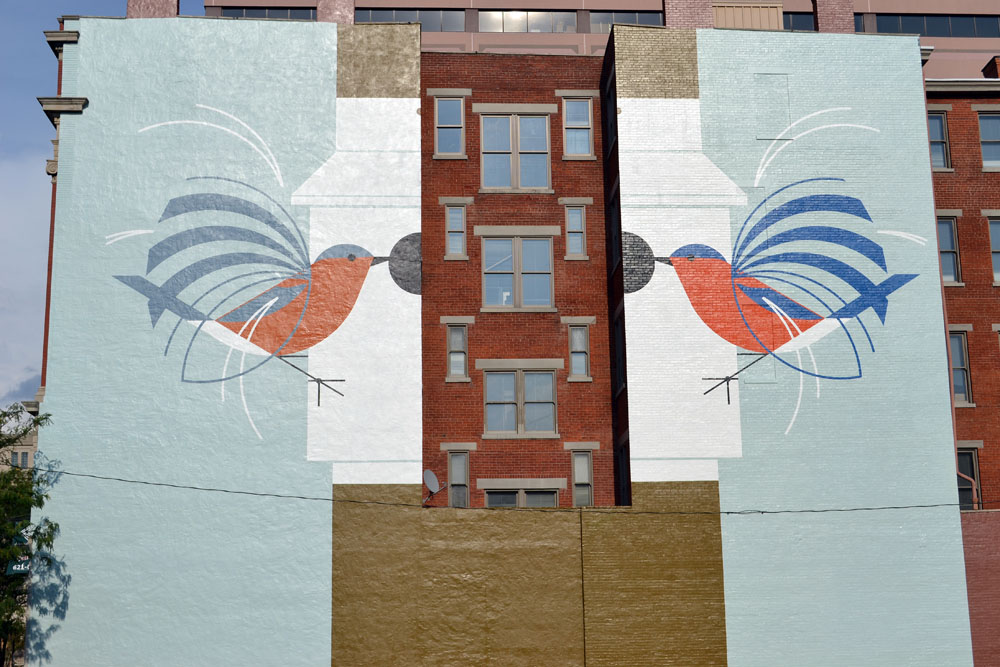301 moved permanently for Charley harper mural
