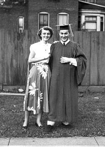 m&d at graduation