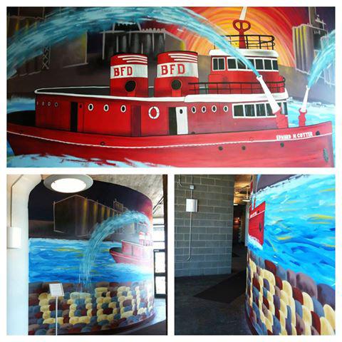Matts Cotter mural